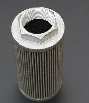 Hydraulici Stainless Steel Filter Element / Air Filter Cartridge For Chemical Industry
